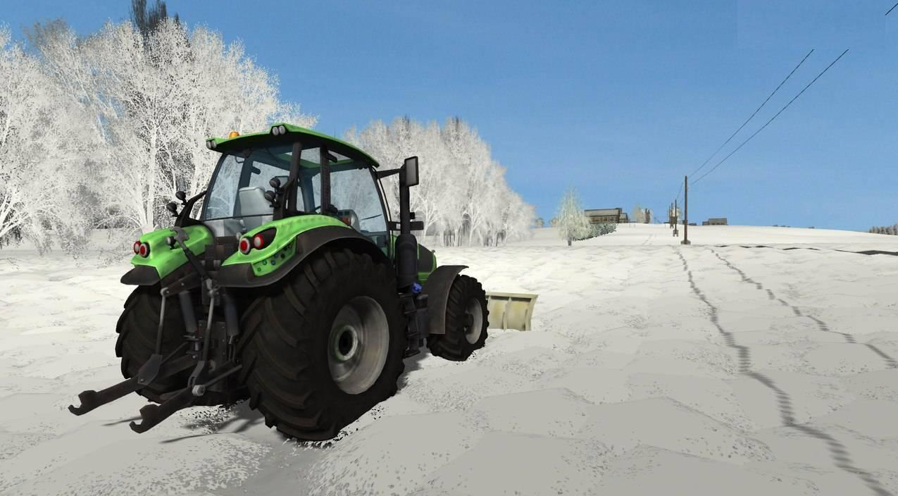 Мод Зима для Farming Simulator 2013