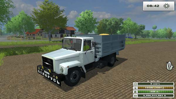 Машина Газ 3309 для Farming Simulator 2013